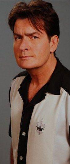 "Charlie Sheen ☺   I've always liked the ""bad boys"""