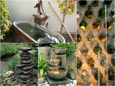 Garden Fountains; Nature's Music   L'Atelier Rouge