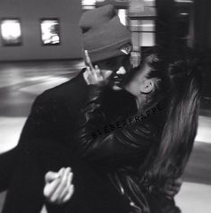 Ariana is so sweet to him