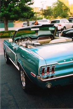 Turquoise Things / Mustang Oh, yeah!