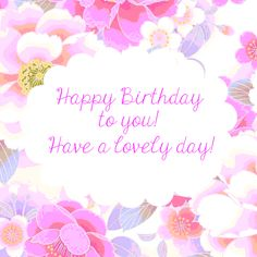 Wish your loved ones a lovely #birthday with this amazing #happybirthday #ecard.