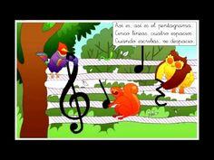CANCIÓN CON PICTOGRAMAS: El pentagrama. - YouTube Bassoon, Elementary Music, Teaching Music, Ukulele, Musicals, Homeschool, Education, Reading, Youtube