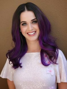 colorful hairstyle from Katty Perry 2014