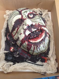 Zombie Cake - Everything is edible!!!