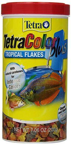 Tetra 77248 TetraColor PLUS Tropical Flakes, 7.06-Ounce, 1-Liter - http://darrenblogs.com/2015/12/tetra-77248-tetracolor-plus-tropical-flakes-7-06-ounce-1-liter/