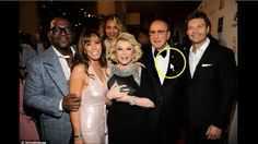 Joan Rivers Spotted Alive Feb. 2015 At Clive Davis Party (Unedited Full ...