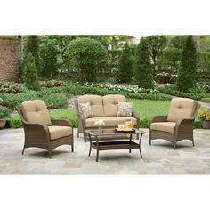 Patio Furniture On Pinterest Patio Conversation Sets