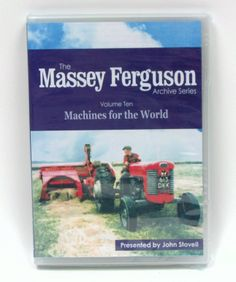 The Massey Ferguson Archive Series #10 `Machines for the World` DVD