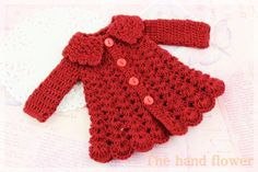 Handmade crochet Dress for Blythe.