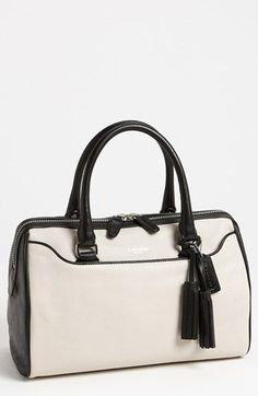 COACH 'Legacy - Haley' Leather Satchel available at #Nordstrom