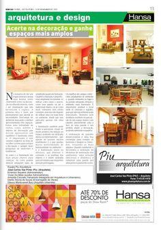 63° Jornal Bom Dia - Acerte na decoração e ganhe espaços mais amplos  09-11-12