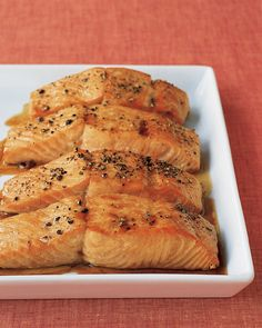Soy Glazed Salmon - subtle, easy, and kept the fish from being too dry.
