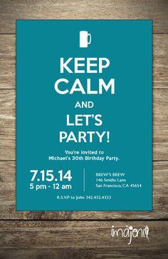 Einladung Party auf Rezept Kartennr 815 1