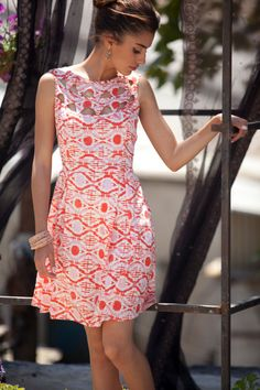 Jessica Kleid Cut outs Details retro Kleid kurzes von AnabellaWomen