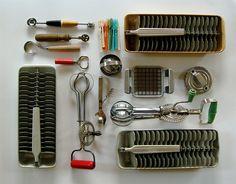 vintage kitchen tools by bricolagelife, via Flickr