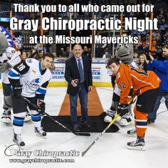Thank you to all who came out for Gray Chiropractic Night!