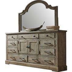 August Grove® Buford 9 Drawer Combo Dresser