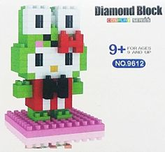Mini Building Blocks KEROPPI HELLO KITTY Toys Mini Figure DIY Block CUTE Gift #DIAMONDBLOCK
