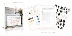 Build A Capsule Wardrobe - Curate Your Capsule Wardrobe 2017 - Capsule Wardrobe Minimalist Women - Work - Workbook - Free Printables- Free EBook - Minimalism Organization Declutter   www.shesbabely.com