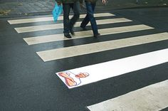 This ad for Mr.Clean is targeted for an older audience of young adults to senior citizens. This technique is very effective because it shows how that one line on the cross walk is completely white, and the rest are stained and dirty. Another reason of why it is effective is because many people walk by it everyday, and that bright whiteness of the line will catch the attention of many people.