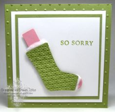 Stampin' Up!  Stocking Punch  Dawn Litke  Cast