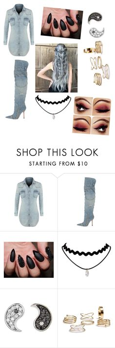 """""""club outfit"""" by fashionselena ❤ liked on Polyvore featuring LE3NO, Dolce&Gabbana and Sydney Evan"""
