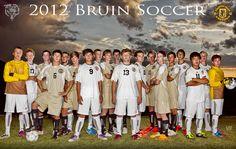 soccer varsity team poster |