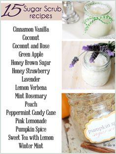 15 Homemade Sugar Scrub Recipes - The Girl Creative