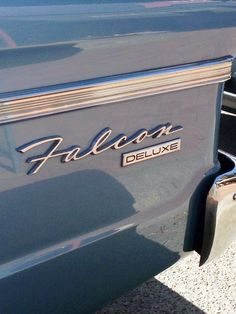 typography - Ford Falcon Deluxe in Berry NSW, Australia (by Jamie Clarke)
