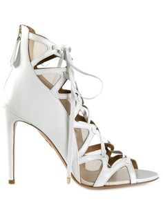 Shop Aquazzura strappy sandals in Tootsies from the world's best independent boutiques at farfetch.com. Over 1000 designers from 300 boutiques in one website.