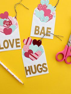 EXPLODING HEARTS LARGE ENVELOPE GIFT TAGS | HOME :: White House Crafts Michael Valentine, Sweet Love Notes, Large Envelope, Craft Punches, Paper Hearts, Heart Cards, Ink Pads, Valentine Gifts, Gift Tags