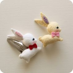Gingermelon Dolls: Free Mini Bunny Pattern