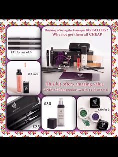 If u would like to join our lovely younique family our starter kits cost £79 but worth £200 which is brilliant U get paid yo play with makeup get paid to be on facebook it's FABULASHY BRILLIANT this is the link if you would like to join