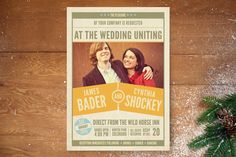 The Big Match Wedding Invitations by That Girl Press at minted.com