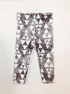 STACKED organic cotton leggings, hipster kids, modern leggings, kids clothes