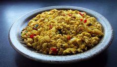 Jazz up this basic Scrambled Tofu recipe for a satisfying #MeatlessMonday breakfast.