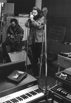 LA Woman recording at The Doors workshop on Santa Monica Boulevard, West Hollywood CA December 1970