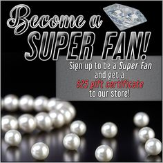 """""""Would you like to earn a FREE $25 Gift Card to our store by becoming our Super Fan? You can earn points, FREE Stuff, enter sweepstakes and more!  Click below for more details http://rostjewelers.perksocial.com/"""""""