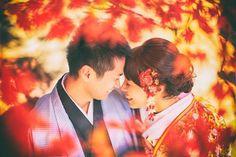 秋のロケーションフォトの醍醐味♡美しい《紅葉》を活かしたウェディングフォトまとめ   marry[マリー]