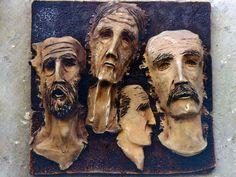 Cretans. Earthenware clay.
