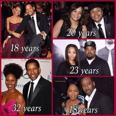 Celebrities with seasoned marriages