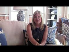 Celebrity Interior Designer Cindy Rinfret video on how a blue and white needlepoint rug inspired the decorating scheme for the Tower Suite in the prestigious Ocean House Resort.