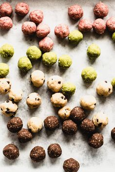 These no-bake Amaze Balls are the perfect little bite. They're totally gluten-free and dairy-free, plus they come in 4 flavor options! | StupidEasyPaleo.com