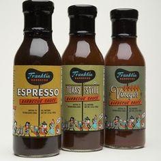 Franklin BBQ Sauce Trio