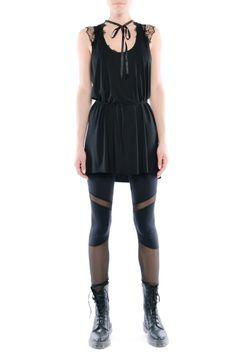 Legginsy - futurystyczne tiulowo jerseyowe Peplum, Snoopy, Rompers, Fitness, Model, Dresses, Fashion, Tunic, Vestidos