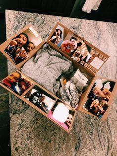 Birthday Gifts For Boyfriend Diy, Cute Boyfriend Gifts, Creative Birthday Gifts, Bf Gifts, Cute Birthday Gift, Birthday Gifts For Best Friend, Boyfriend Anniversary Gifts, Creative Gifts For Boyfriend, Diy Birthday Box