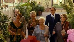 The gang: Judi, Bill and Maggie return in the sequel with Celia Imrie,Ronald Pickup and D...