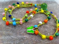 Best Girl Birthday Present Bright Necklace Age 3 to by wandandwear, $11.95
