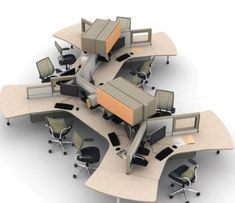 Office Space Planners cubicle