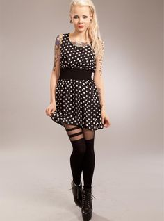 57be864c7f8f9 Robe Rockabilly Gothique Poizen Industries (Evil Clothing)